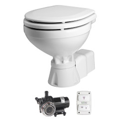 Johnson Pump AquaT Toilet Electric Compact - 12V w\/Pump [80-47231-01]