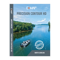 Lowrance C-MAP Precision Contour HD Chart - North Carolina [M-NA-Y704-MS]