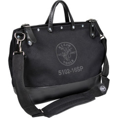 "Klein Tools Deluxe Black Canvas Bag - 16"" [5102-16SPBLK]"