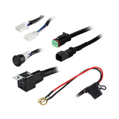 Heise 1 Lamp DR Wiring Harness  Switch Kit [HE-SLWH1]