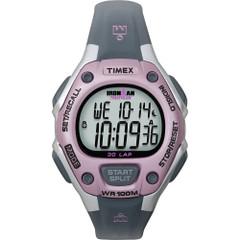 Timex IRONMAN 30-Lap Mid-Size Watch - Pink\/Grey [T5K020JV]