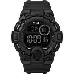 Timex Mens A-Game DGTL 50mm Watch - Black [TW5M27400JV]