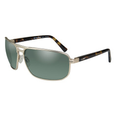 Wiley X Hayden Sunglasses - Polarized Green Lens - Satin Gold Frame [ACHAY04]
