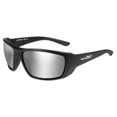 Wiley X Kobe Sunglasses - Silver Flash Smoke Grey Lens - Matte Black Frame [ACKOB02]