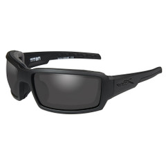 Wiley X Titan Sunglasses - Smoke Grey Lens - Matte Black Frame [CCTTN01]