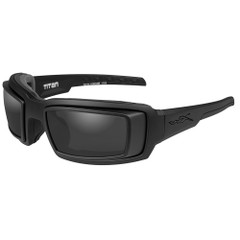 Wiley X Titan Sunglasses - Smoke Grey Lens - Matte Black Frame w\/Rx Rim [CCTTN01D]