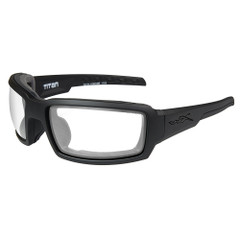 Wiley X Titan Sunglasses - Clear Lens - Matte Black Frame [CCTTN03]