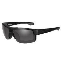 Wiley X Compass Sunglasses - Grey Lens - Matte Black Frame [CCCMP01]