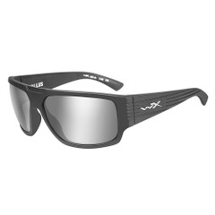 Wiley X Vallus Sunglasses - Grey Silver Flash Lens - Matte Graphite Frame [ACVLS01]