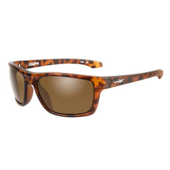 Wiley X Kingpin Sunglasses - Brown Lens - Matte Demi Frame [ACKNG02]