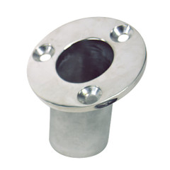 "Sea-Dog Flush Mount Flagpole Socket - 25 - 1-1\/4"" ID - 316 Stainless Steel [491713-1]"