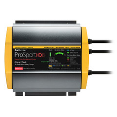 ProMariner ProSportHD 8 Gen 4 - 8 Amp - 2 Bank Battery Charger [44008]