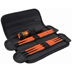 Klein Tools 8-in-1 Insulated Interchangeable Screwdriver Set [32288]