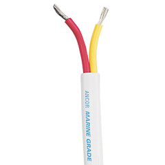 Ancor Safety Duplex Cable 12\/2 AWG - Flat - 25 [124302]