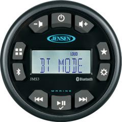 """JENSEN 3"""" JMS3RTL Bluetooth AM\/FM\/WB\/USB Waterproof Stereo - Black [JMS3RTL]"""