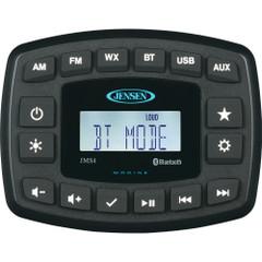 """JENSEN 4"""" JMS4RTL Waterproof Bluetooth AM\/FM\/WB\/USB Stereo - Black [JMS4RTL]"""
