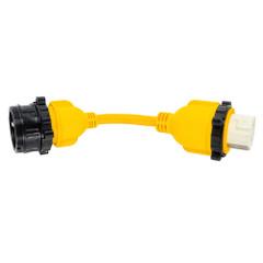 """Camco 30AM\/50AF Power Grip Marine 12"""" Dogbone - M-Lock\/F-Locking Adapter [55615]"""