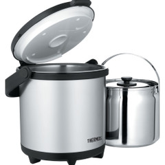 Thermos Cook  Carry System - Stainless Steel\/Black - 4.7 Qt [CC4500SS2]