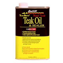 BoatLIFE Teak Brite Advanced Formula Teak Oil - 32oz *Case of 12* [1188CASE]