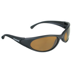 Harken Sport Sunglasses - Matte Black Rubberized Frame\/Brown Lens [2474]