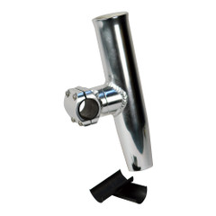 "C.E. Smith Adjustable Mid Mount Rod Holder Aluminum 1.66"" or 1-1\/2"" w\/Sleeve  Hex Key [53772]"