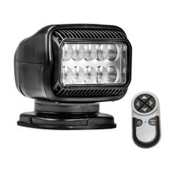 Golight Radioray GT Series Permanent Mount - Black LED - Wireless Handheld Remote [20514GT]