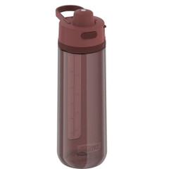 Thermos Guard Collection Hard Plastic Hydration Bottle w\/Spout - 24oz - Rosewood Red [TP4329DR6]