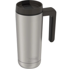 Thermos Guardian Collection Stainless Steel Hydration Bottle - 18oz - Hot 5 Hours\/Cold 14 Hours - Stainless Steel  Black [TS4309MS4]