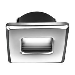 i2Systems Ember E1150Z Snap-In - Polished Chrome - Square - Warm White Light [E1150Z-12CAB]