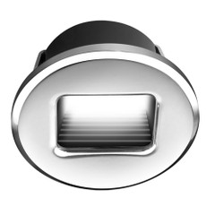 i2Systems Ember E1150Z Snap-In - Polished Chrome - Round - Red Light [E1150Z-11H]
