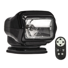 Golight Stryker ST Series Permanent Mount Black Halogen w\/Wireless Handheld Remote [3051ST]