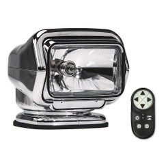 Golight Stryker ST Series Portable Magnetic Base Chrome Halogen w\/Wireless Handheld Remote [30062ST]