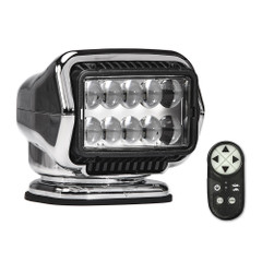 Golight Stryker ST Series Permanent Mount Chrome LED w\/Wireless Handheld Remote [30064ST]