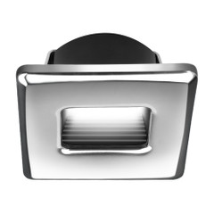 i2Systems Ember E1150Z Snap-In - Polished Chrome - Square - Red Light [E1150Z-12H]
