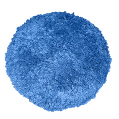 """Presta Blue Blended Wool 9"""" Double-Sided Quick Connect Polishing Pad [890086WD]"""