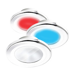 i2Systems Apeiron A3120 Screw Mount Light - Red, Warm White  Blue - White Finish [A3120Z-31HCE]