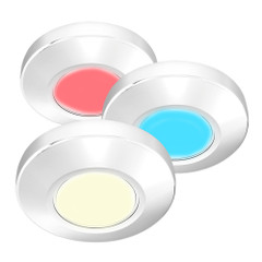 i2Systems Profile P1120 Tri-Light Surface Light - Red, Warm White  Blue - White Finish [P1120Z-31HCE]