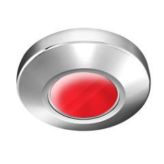 i2Systems Profile P1100 1.5W Surface Mount Light - Red - Brushed Nickel Finish [P1100Z-41H]