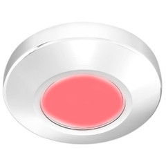 i2Systems Profile P1100 1.5W Surface Mount Light - Red - White Finish [P1100Z-31H]