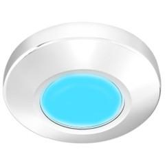 i2Systems Profile P1100 1.5W Surface Mount Light - Blue - White Finish [P1100Z-31E]