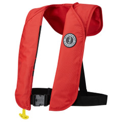 Mustang MIT 70 Inflatable PFD Automatic - Red [MD4032-04]