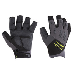 Mustang EP 3250 Open Finger Gloves - Large - Grey\/Black [MA6004\/02-L-262]
