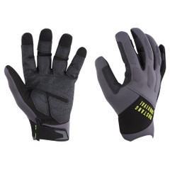 Mustang EP 3250 Open Finger Gloves - XX-Large - Grey\/Black [MA6005\/02-S-262]
