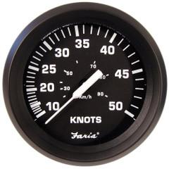 "Faria 4"" Speedometer 50 Knot - Chesapeake White - Stainless Steel Bezel [SE9658]"