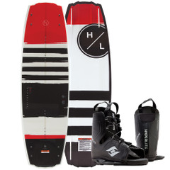 Hyperlite Franchise Wakeboard 138 cm w\/Frequency Boot - 2019 Edition [92500274]