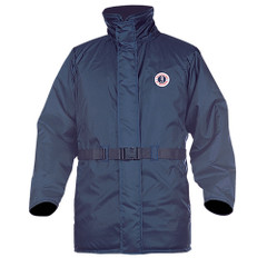 Mustang Classic Flotation Coat - Large - Navy Blue [MC1506-L-05]