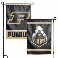 Purdue Boilermakers Flag 12x18 Garden Style 2 Sided