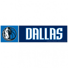 Dallas Mavericks Bumper Sticker