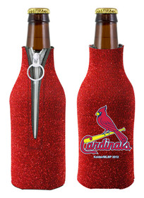 St. Louis Cardinals Bottle Suit Holder Glitter Red