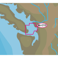 C-MAP NT+ NA-C715 FP Format - San Juan Islands [NA-C715FPCARD]